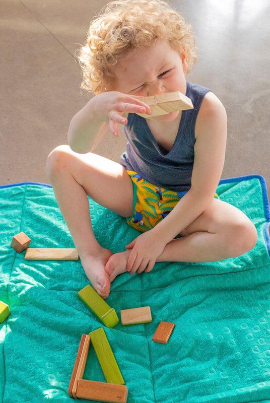 Manta juegos bebé y picnic