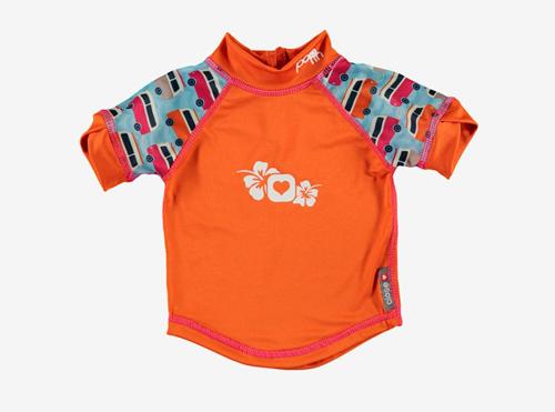 Camiseta de baño con protección UV +50
