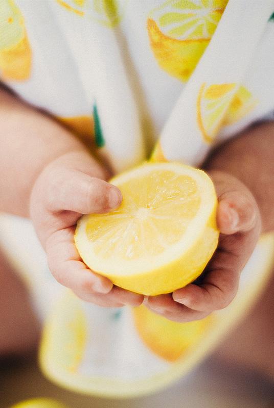 Set 2 Bandanas Limones 100% Algodón