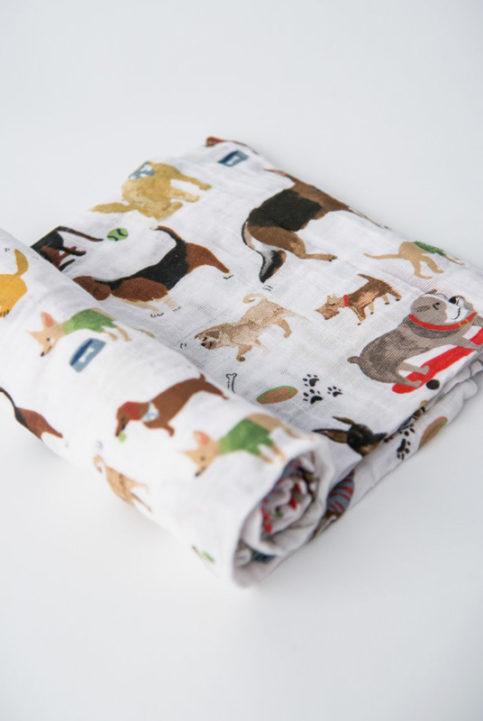 Muselina estampado canino perros