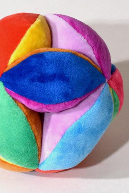 pelota terciopelo sonidos bebe