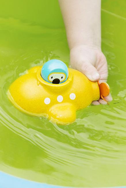 Submarino para la bañera