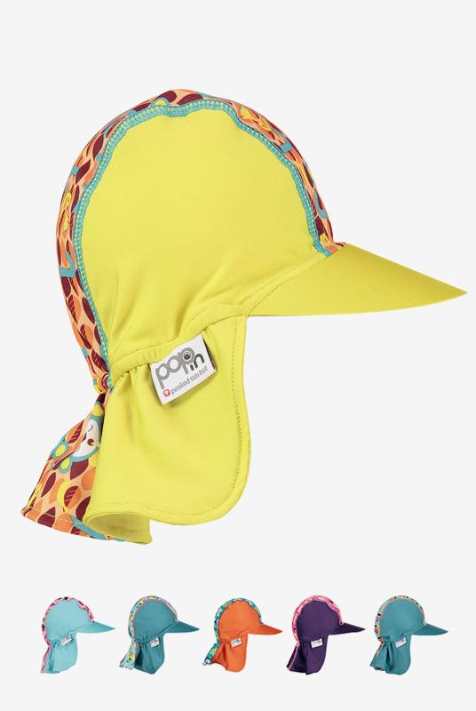 Gorra con protección solar para bebés (6m a 4a)