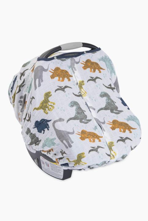 cubierta silla coche dinosaurios
