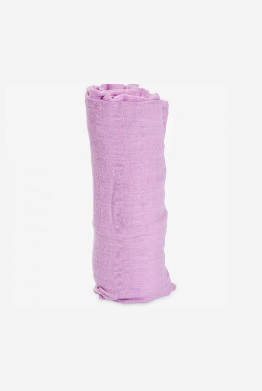Muselina algodón Lila 120×120