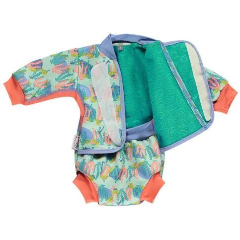 Traje de baño bebé tortugas