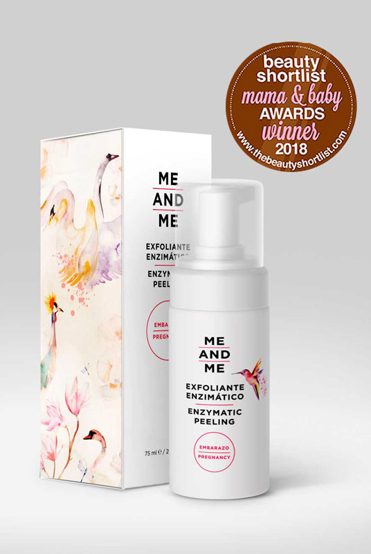 Me and Me – Exfoliante Enzimático Corporal 75ml