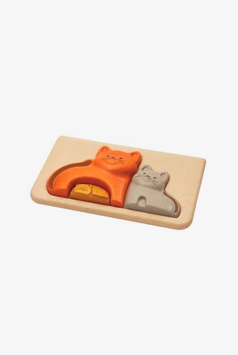 puzzle de gatos
