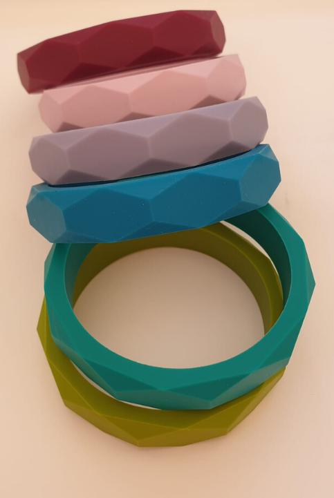 Pulsera de silicona nuevos colores