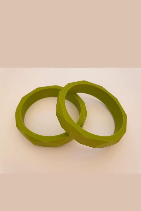 pulsera silicona dentición