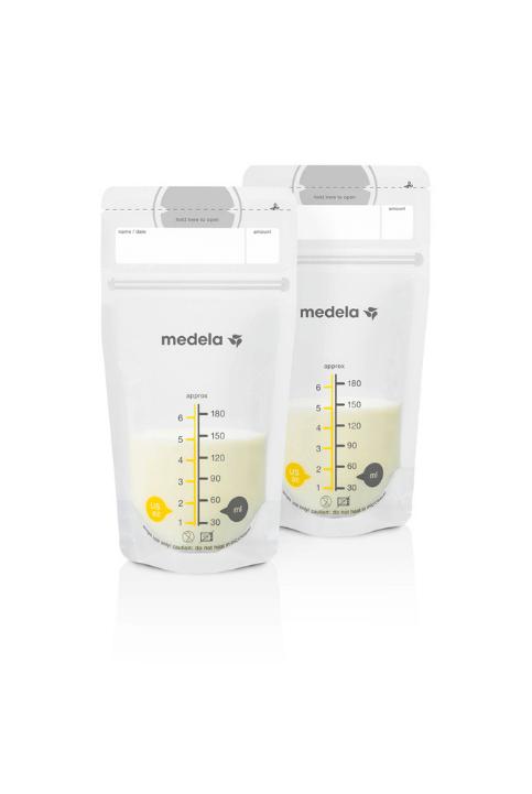Bolsas de almacenamiento para leche materna
