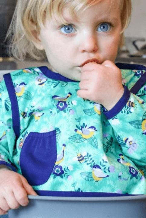 Babero antimanchas manga larga 6-18 meses