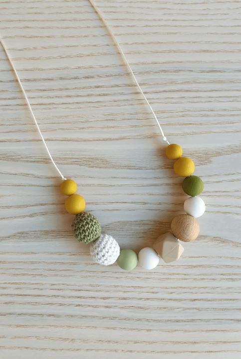 Collar lactancia y maternidad Texturas Must-Mint