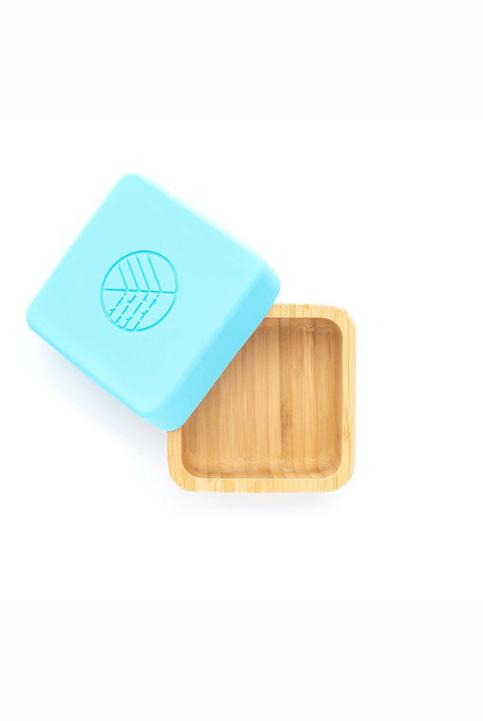 Caja Bambú snack azul Eco Rascals
