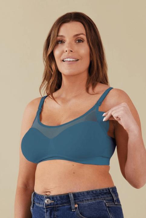 Sujetador lactancia Body Silk Seamless Azul