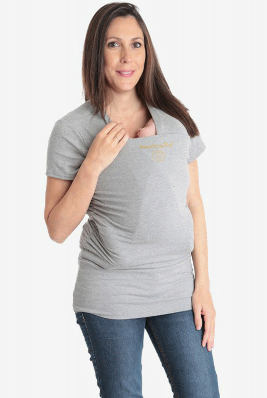 Camiseta portabebés Amarsupiel (Método Canguro)